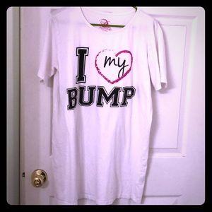 """Other - """"I love my bump"""" maternity sleep shirt!"""